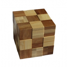 Bamboo Snake Cube Puzzle